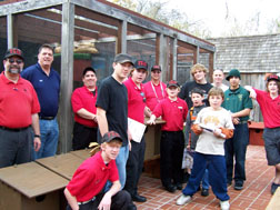 Building owl boxes is a great project for an Eagle Scout group